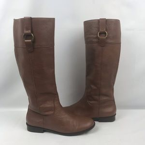 Banana Republic Pebbled Leather Riding Boot